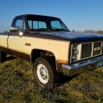 1984 84 Gmc K20 K25 K2500 3 4 Ton 4x4 Four Wheel Drive Regular Cab Sierra Classic Brown And Tan